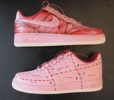 Meat is Neat Nike Air Force 1