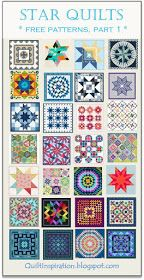 We have a huge stash of free patterns in our Free Quilt Inspiration archive and we are excited to share them with you. To go to a patter. Lone Star Quilt, Star Quilt Blocks, Star Quilt Patterns, Star Quilts, Easy Quilts, Mini Quilts, Sewing Patterns, Quilting Tutorials, Quilting Projects