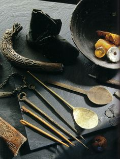 Everyday viking items unearthed in Dublin. 10-12th century AD