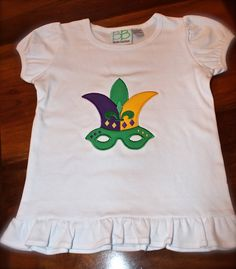 Mardi Gras Jester Crown Tees   Long/Short Sleeved by CarriageFinds, $24.00