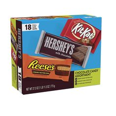 Hershey Milk Chocolate Bar, Chocolate Bars, Best Halloween Candy, Kit Kat Bars, Hershey Candy Bars, No Bake Snacks, Peanut Butter Cups, Save Link, Simple Dessert