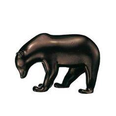 e4b379c8828 sculpture-petit-ours-brun-de-francois pompon Ours Pompon