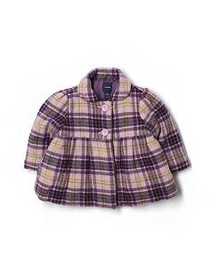 Baby Gap Plaid Coat - $12 on thredup