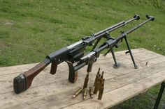 PTRS and PTRD. Russian anti tank rifles