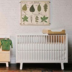 oeuf sparrow crib birch and merlin 3drawer dresser in birch u2026 - Oeuf Sparrow Crib