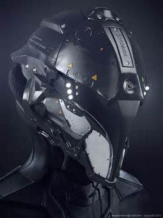 3D #characters #design Space Helmet - Mecha & Futuristic Design by ...