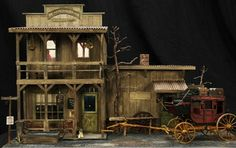 Third Place Winner A little piece of Chugwater, Wyoming recreated in miniature!