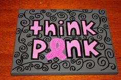 Think Pink Canvas #ZTA