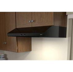 Zephyr Cyclone Collection 36  Under Cabinet Range Hood-Black