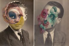 Maurizio Anzeri, an Italian based visual artist, is the creator of some extremely impressive imagery using vintage photographs that he embroiders creating Collages, Photo Sculpture, Alternative Photography, Italian Artist, Grafik Design, Embroidery Art, Vintage Photographs, Textile Art, Needlepoint