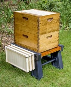 Honey Run Apiaries now carries The Ultimate Hive Stand.  With snow on the ground today we haven't had a chance to try it ourselves, but it looks like a well though out stand.  It's ligh…