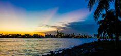 #miami #beach #sunset #photo
