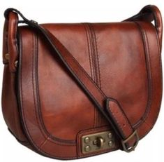 047e77b283 Get the trendiest Cross Body Bag of the season! The Fossil Vintage Reissue  Flap with Lock Brown Leather Cross Body Bag is a top 10 member favorite on  ...