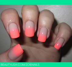 Nudey Neon | Zoe F.'s (zoendout) Photo | Beautylish