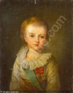 A portrait of Louis-Joseph, eldest son of Louis XVI and Marie Antoinette, from the school of Elisabeth Vigee Lebrun. Louis Xvi, Marie Antoinette, Portraits, Portrait Art, French Revolution Painting, Bourbon, French Royalty, French History, Elisabeth