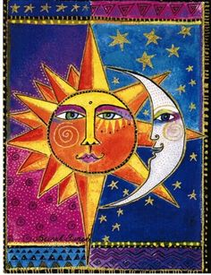 Sun and Moon by Laurel Burch