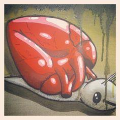 Il mio cuore è una casa - Mixed media on canvas, 20x30cm - 2014  Copyright Alessio Bolognesi 2014