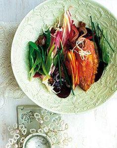 Rezept: Rote-Bete-Apfel-Salat in Feigen-Vinaigrette