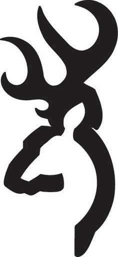 browning symbol - One of the best logo example I have ever seen. Only noticed after years of seeing it that it has both the male and the female deer in the same logo.