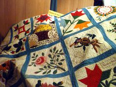 The 1857 magnificent 14th ward quilt