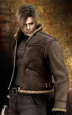 Leon Kennedy = my ultimate video game crush. This is the first of the approximately 1,000,000 photos I'll probably pin of him.