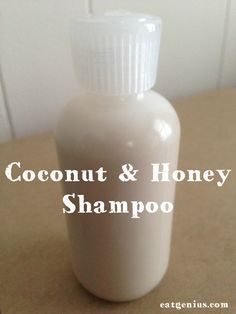 Coconut milk and Castile shampoo / body wash Honey Shampoo, Coconut Milk Shampoo, Natural Shampoo, Diy Shampoo, Shampoo Bottles, Belleza Diy, Tips Belleza, Gel Aloe, Diy Hair Care