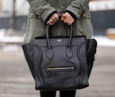 CÉLINE mini luggage ♥.♥