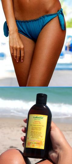 This tanning oil is packed with nature's vitamin-rich oils for a healthy glow and perfect nutritive bronzed tan where you look and feel fantastic.