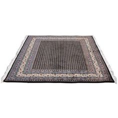 5' Square Wool Area Rug (475 AUD) ❤ liked on Polyvore