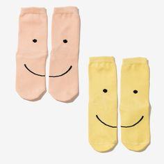 Smiley Crew Socks Set idc if they're for kids Cute Socks, My Socks, Happy Socks, Awesome Socks, Kids Socks, Riley Matthews, Crazy Socks, Sock Shoes, Lehenga
