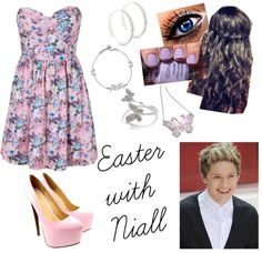 """""""Easter With Niall"""" by mackenzishankle ❤ liked on Polyvore"""