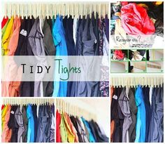 Tights Tidier | 50 Clever DIY Ways To Organize Your Entire Life