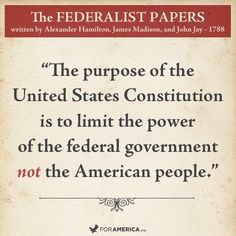 The purpose of the United States Constitution: pic.twitter.com/8CWpwBKCJx