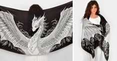My Silk Dragon Scarves Will Give You Wings | Bored Panda