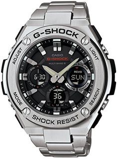 Casio G-Shock S-Steel Series Multi Band Solar GST-W110D-1AJF Mens *** This is an Amazon Associate's Pin. Click this Amazon Affiliate link to review more details.