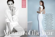 "Cover Exclusive: Angelina Jolie on Being Married to Brad Pitt: ""It Doe 