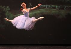 Evgenia Obraztsova in Giselle at Dance Open 2013. Photo by Stas Levshin