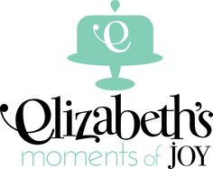 Logo Design For a Gourmet Bakery (Elizabeth's Moments of Joy). Gourmet Bakery, Bakery Logo, Portfolio Design, Creative Design, Whimsical, Logo Design, Typography, Joy, In This Moment