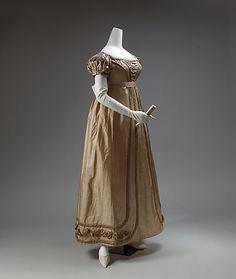 Dress 1819-1823 Europe MET