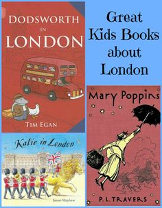 {Great Kids Books about London} - fun way to travel through books and explore London, it's culture, landmarks & kids lit.