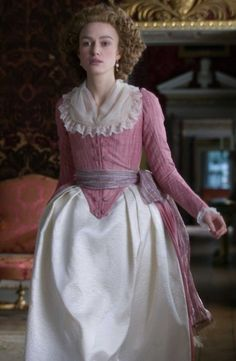 Keira Knightley as Georgiana Cavendish in The Duchess. Better-quality shot of a costume I've already pinned but shall not bother to delete, as it is lost to the abyss that is this board. 18th Century Dress, 18th Century Costume, 18th Century Clothing, 18th Century Fashion, Keira Christina Knightley, Keira Knightley, Victorian Fashion, Vintage Fashion, Recycled Costumes