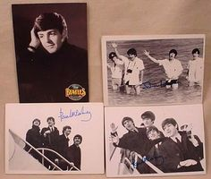 Beatles cards. They came in a thin pack with horrible cardboard-like pink gum. I collected the cards.