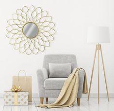 Oglinda decorativa Glam Margerite D97cm