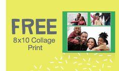 Free 8x10 Collage Print