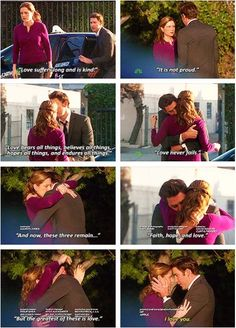 One of my absolute favorite scenes in The Office The Office Jim, Office Tv, Office Quotes, Office Memes, The Office Love Quotes, Parks N Rec, Parks And Recreation, Jim Pam, John Krasinski