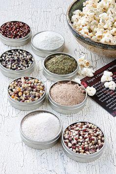 Gourmet Popcorn Seasoning Set | Ten Best Hostess Gifts | Camille Styles