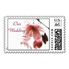 BK- Cherry Blossom Wedding postage