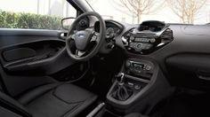 Ford KA+ spacious interior