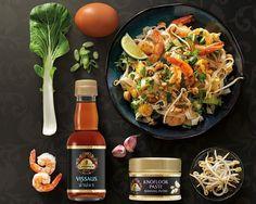 Pad Thai - Gewokte rijstnoedels recept