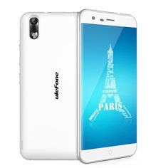 Ulefone Paris 4G Smartphone Android 5.1 5.0 inch MTK6753 64bit Octa Core 1.3GHz 2GB/16GB 5MP/13MP Cameras -White